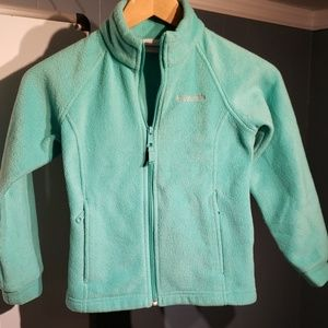 Girls Small Columbia Fleece